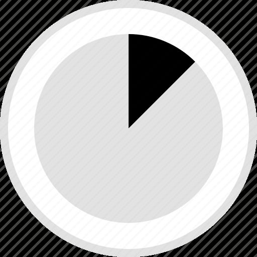 analytics, graphic, pie, ten icon