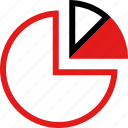 data, info, infographic, information, pie icon
