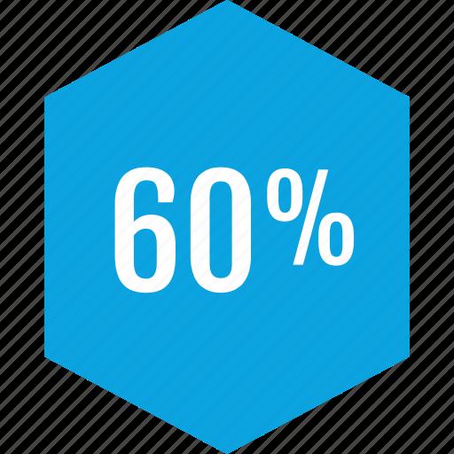 data, graphics, info, percent, sixy icon