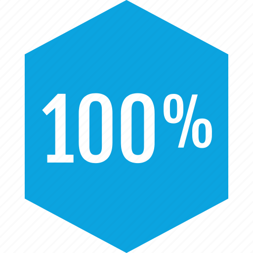 data, graphics, hundred, info, one, percent icon