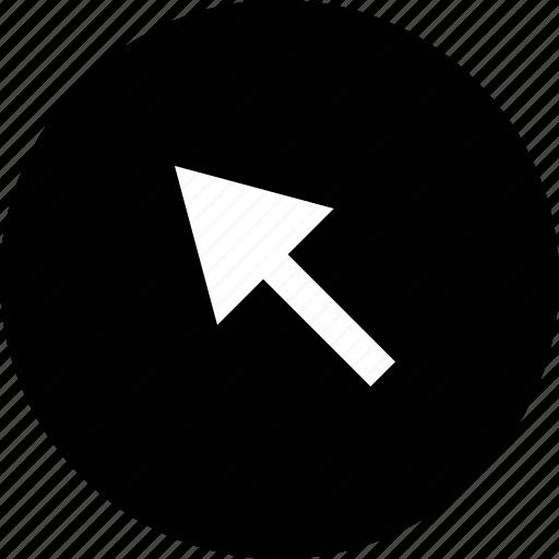 arrow, click, mouse, tracker icon