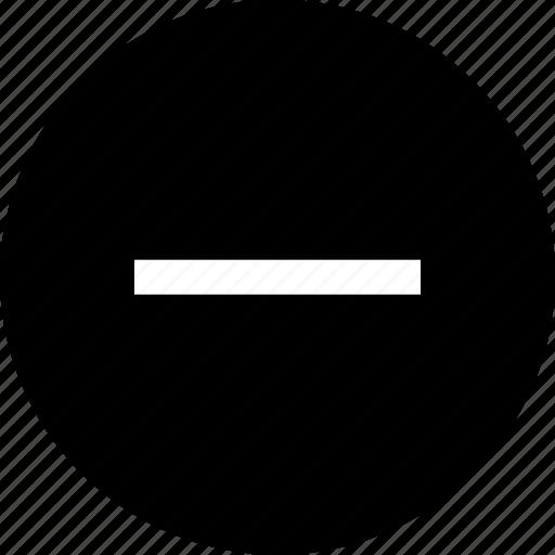 nav, negative, neutral icon
