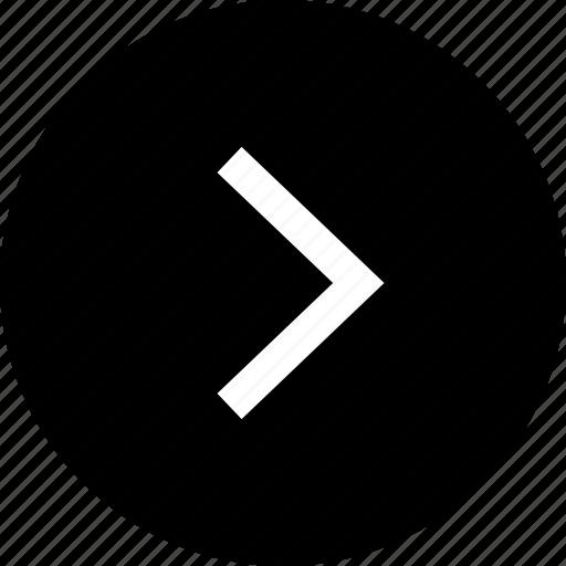 forward, go, next, right icon