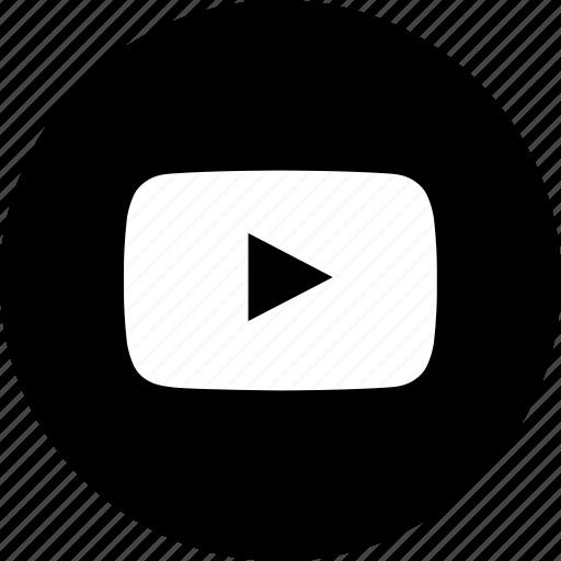 media, youtube, youtuber icon