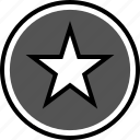 analytics, fav, gfx, graphic, information, star icon