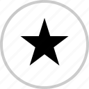data, graphics, info, pin, special, star icon