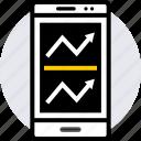 arrow, data, double, graphics, info icon