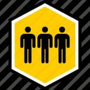 analytics, gfx, graphic, information, three icon