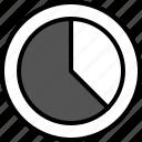 analytics, gfx, graphic, information, ok icon