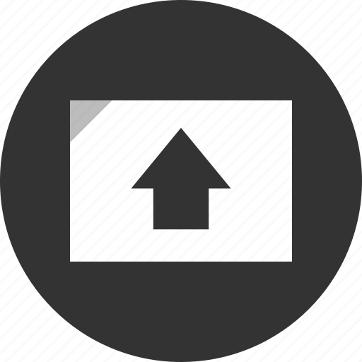 analytics, arrow, data icon