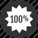 analytics, full, onehundred icon