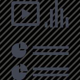 analytics, data, graph, seo icon