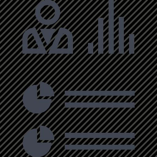 analytics, data, report, seo icon
