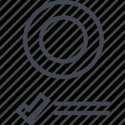 analytics, business, data, goal, seo, target icon