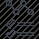 analytics, data, documenf, infographic, seo icon
