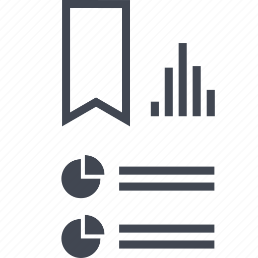 analytics, award, data, ribbon, seo icon