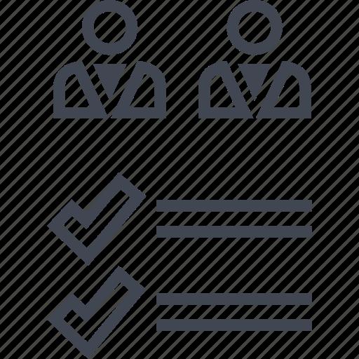 analytics, data, seo, two, users icon