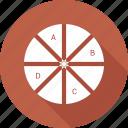 analystic, chart, pie, report