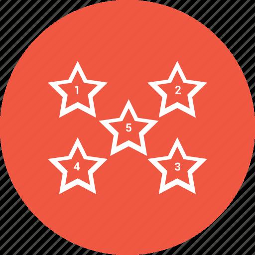 analysis, analytics, diagram, star, statistics icon