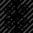 abstract, bar, bar chart, business, chart, graph icon