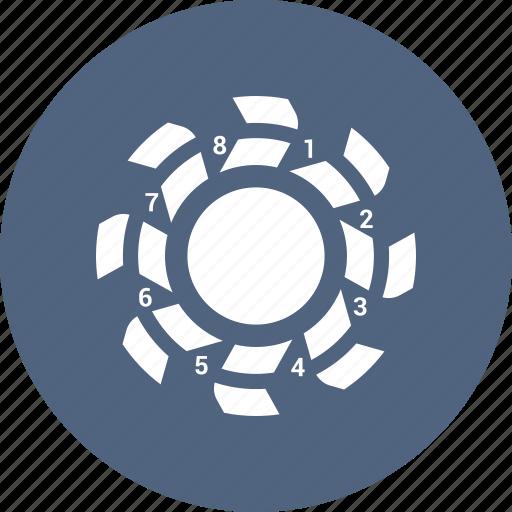 analytics, chart, report, statistics icon