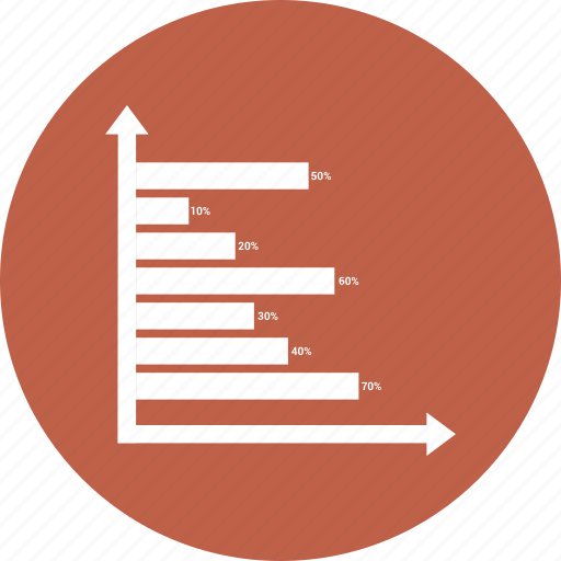 bar, chart, graph, infographic icon