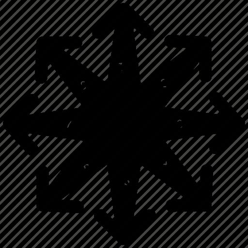 area, chart, circle, pie icon