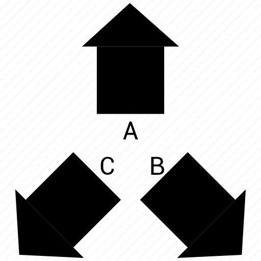 arrow, expand, infographic, out icon