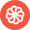 analytics, business, flower, infographic, trends icon