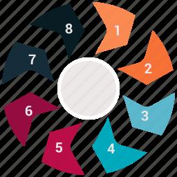 chart, finance, graph, marketing, money, pie, piechart icon