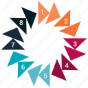 analytics, business, chart, graph, infographic, pie