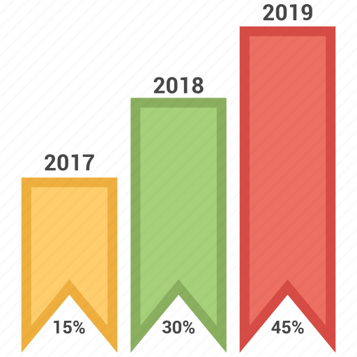 analytics, bar, business, infographic, trends icon