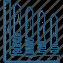 bar, chart, growth icon