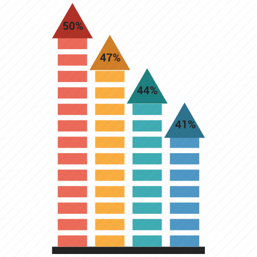 Analytics, bar, chart, graph, growth bar, infographic icon - Download on Iconfinder