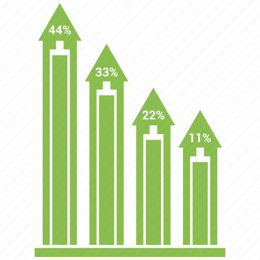 analytics, bar, graph, growth, infographic icon