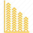 chart, graph, revenue growth icon