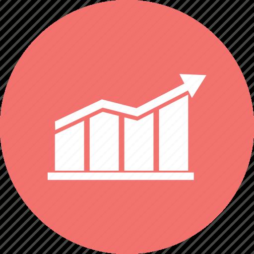bars, data, growth bar, infographic, information icon