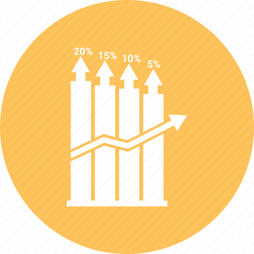 bars, data, growth bar, infographic, information icon