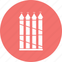arrow, bar, chart, growth icon