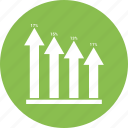 analytics, bar, business, chart, graph, growth bar, infographic icon