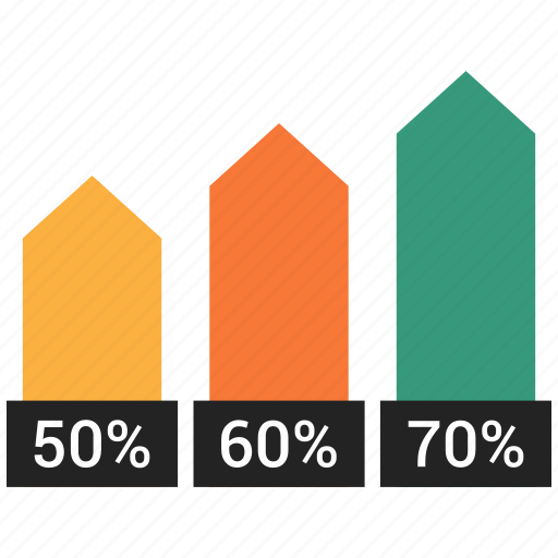 analytics, bar, colum, graph, marketing icon