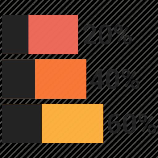 analytics, bar chart, business, finance, markeing icon