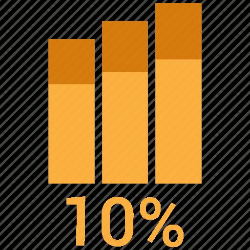 bar chart, bar graph, seo analytics, seo graph, ten icon