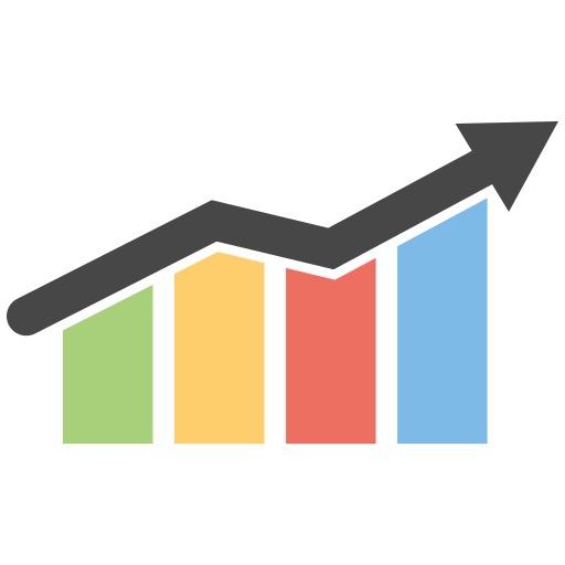 Growth arrow png