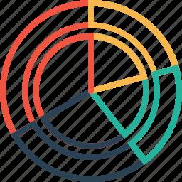 analysis, chart, gauge, infographic, measure, performance, statics icon