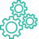 config, configuration, gear, mechanics, option, preferences, settings icon