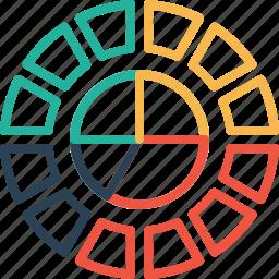 analysis, chart, gauge, good, measurement, performance, statics icon