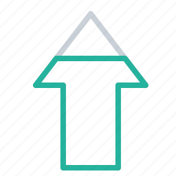 arrow, business, company, growth, increase, success, trend icon