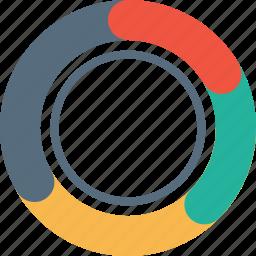 analysis, chart, element, graph, infographic, pie, statics icon