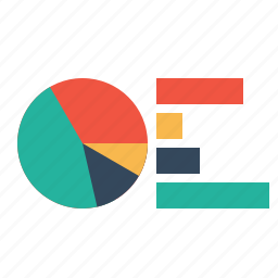 analysis, bar, chart, infographic, pie, report, statics icon